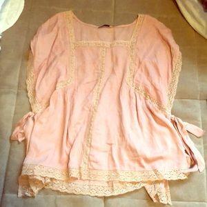 New LUSH rose boho blouse 🌷